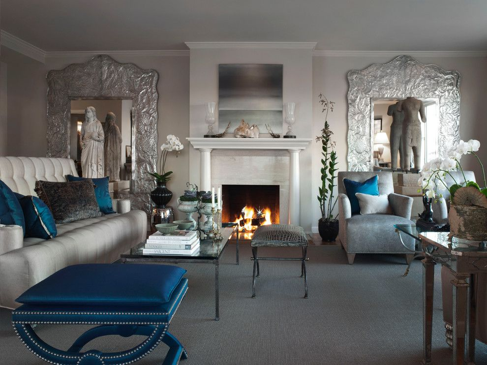 Rendition Homes for a Eclectic Family Room with a Houseplants and Nob Hill Residence by Candace Barnes