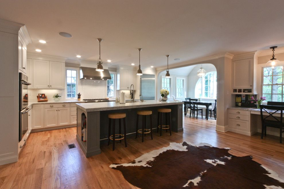 Rendition Homes for a Traditional Kitchen with a Floor and Classic Coastal Colonial Renovation   the Anti Mcmansion by Michael Robert Construction