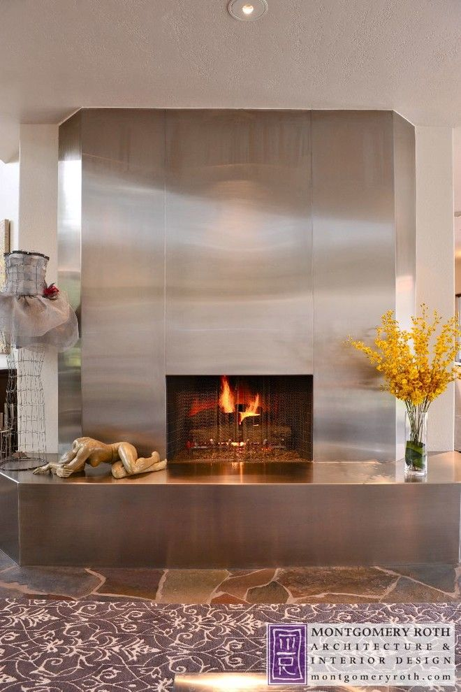 Restoration Hardware Houston for a Contemporary Spaces with a Montgomery Roth and Lugrin Residence   Houston, Tx by Montgomery Roth Architecture & Interior Design