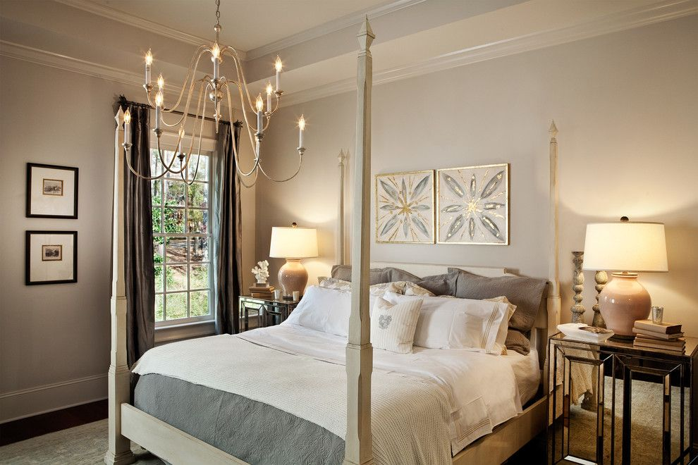 Restoration Hardware Nyc for a Transitional Bedroom with a Prints and Parade of Homes 2012 by Lgb Interiors