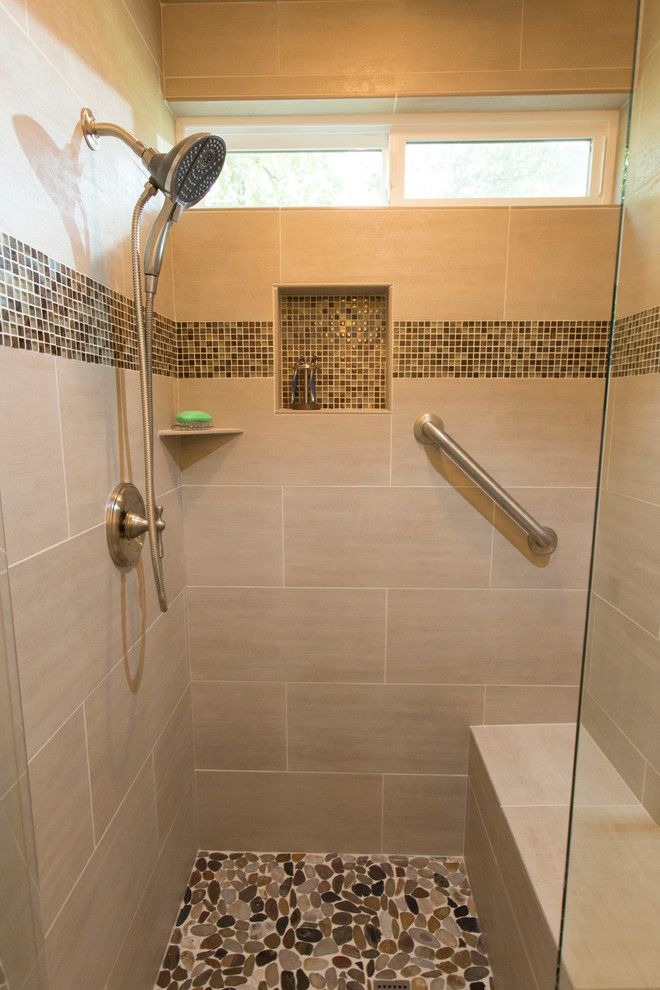 Restoration Hardware Portland for a Modern Bathroom with a Custom Shower and Spacious Master Bath by Wilsonville Carpet & Tile