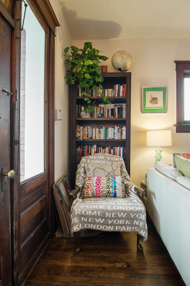 Reupholster a Couch for a Eclectic Family Room with a My Houzz and My Houzz: Lisa by Lucy Call