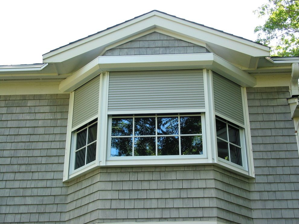 Rhino Shield Cost for a  Exterior with a Rolling Shutters and Rolling Shutters, Hurricane Protection by Shade and Shutter Systems, Inc