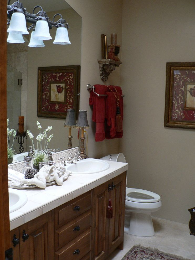 Rich Ford Albuquerque for a Victorian Bathroom with a Old World Bathroom and Bathrooms by Nicole Décor & Design Dba Wingspan Productions Llc