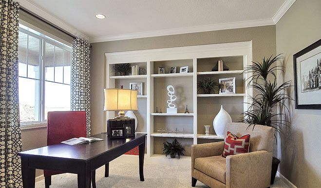 Richmond American Homes Las Vegas for a Traditional Home Office with a Traditional and Richmond American Homes   Eastern Shore by Richmond American Homes   Eastern Shore