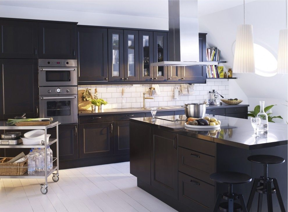 Ricks Electric for a Modern Kitchen with a Modern and Ikea Kitchen by Ikea