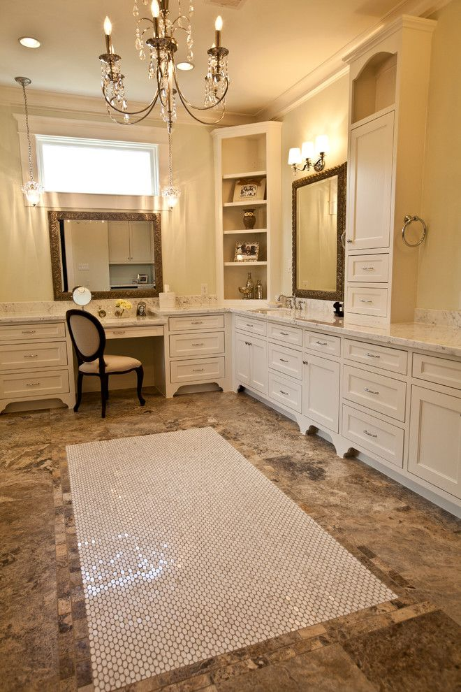 Ridgewater for a Transitional Bathroom with a Custom Home Builder and Master Bath by Ridgewater Homes Llc