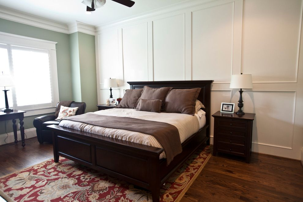 Ridgewater for a Transitional Bedroom with a Houston Heights and Master Bedroom by Ridgewater Homes Llc