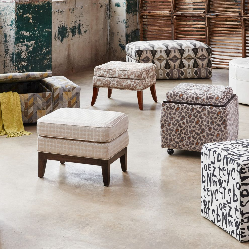 Riverside Animal Clinic for a Eclectic Living Room with a Patterned Ottomans and La Z Boy by La Z Boy