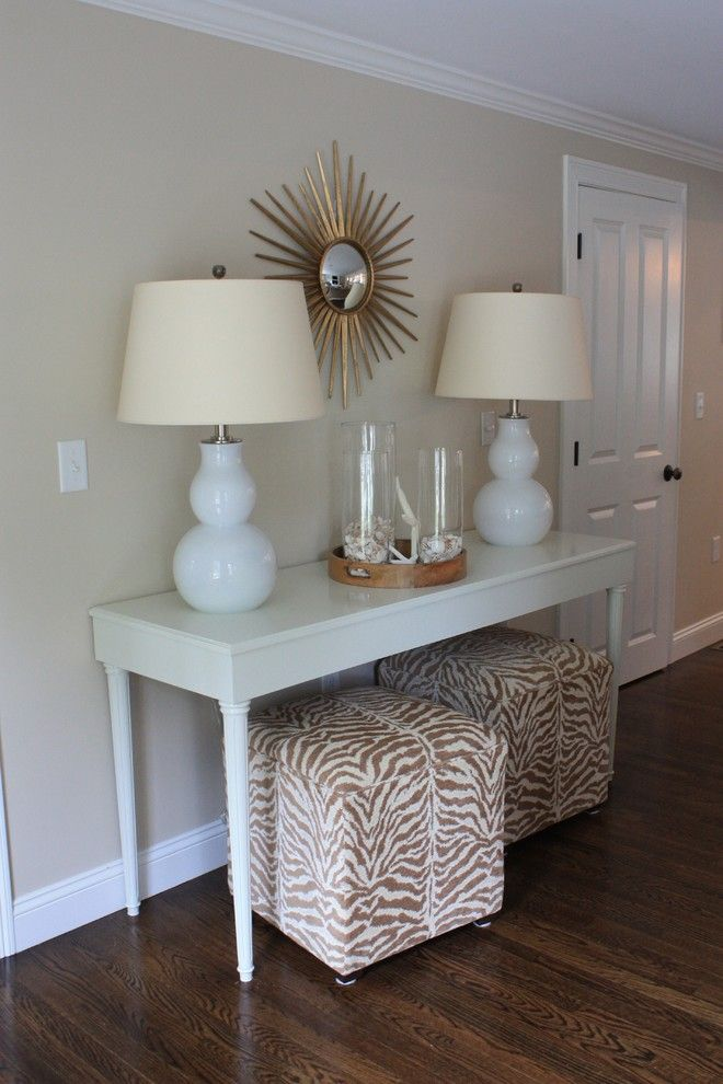 Riverside Animal Clinic for a Traditional Family Room with a White Console Table and Riverside Family Room by Wendy Callahan Interiors