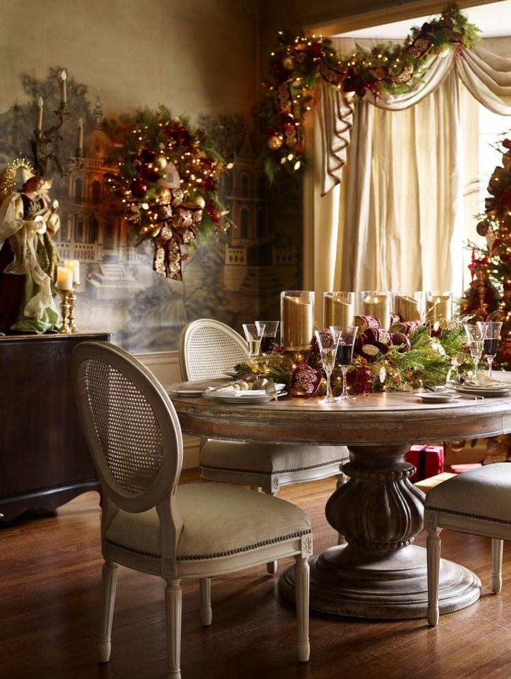 Roberts Jewelers for a Traditional Dining Room with a Traditional and Holiday 2015 by Frontgate