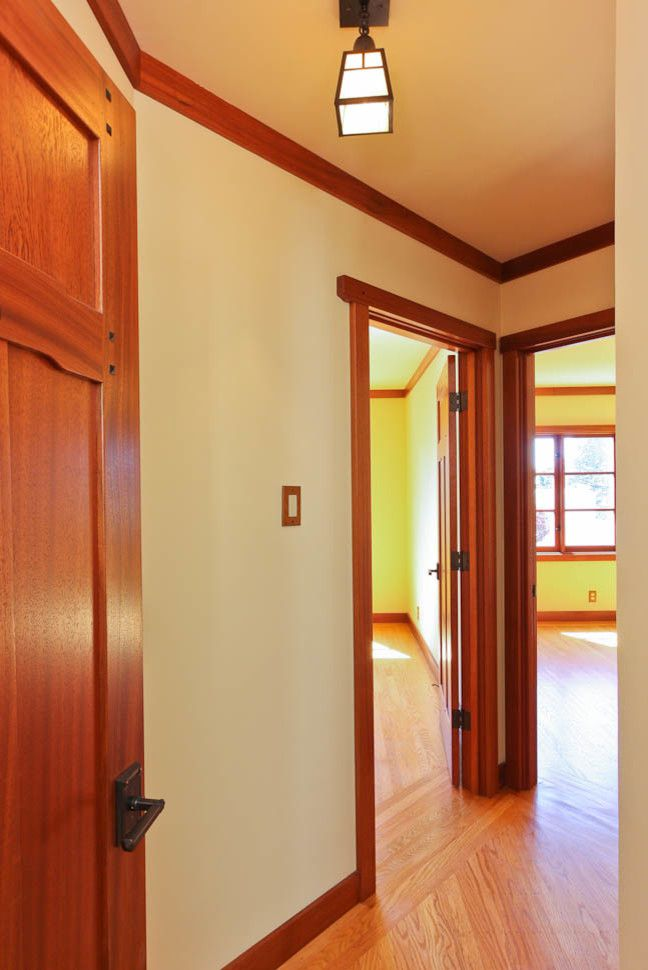 Roberts Jewelers for a Traditional Hall with a Craftsman Style Conversion and Craftsman Style Conversion by Reco Roberts Electric