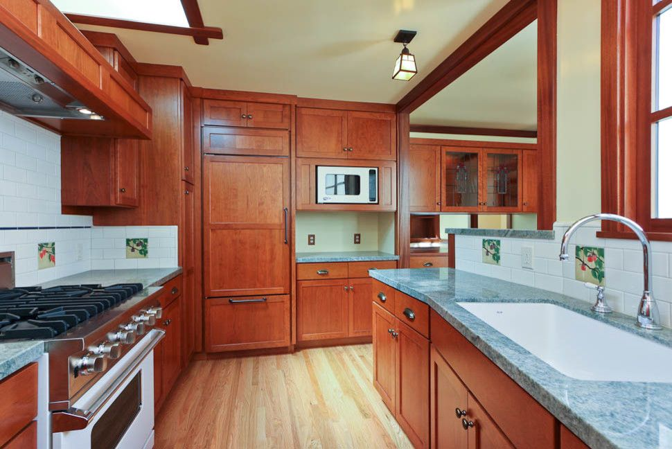 Roberts Jewelers for a Traditional Kitchen with a Fan on Roof and Craftsman Style Conversion by Reco Roberts Electric
