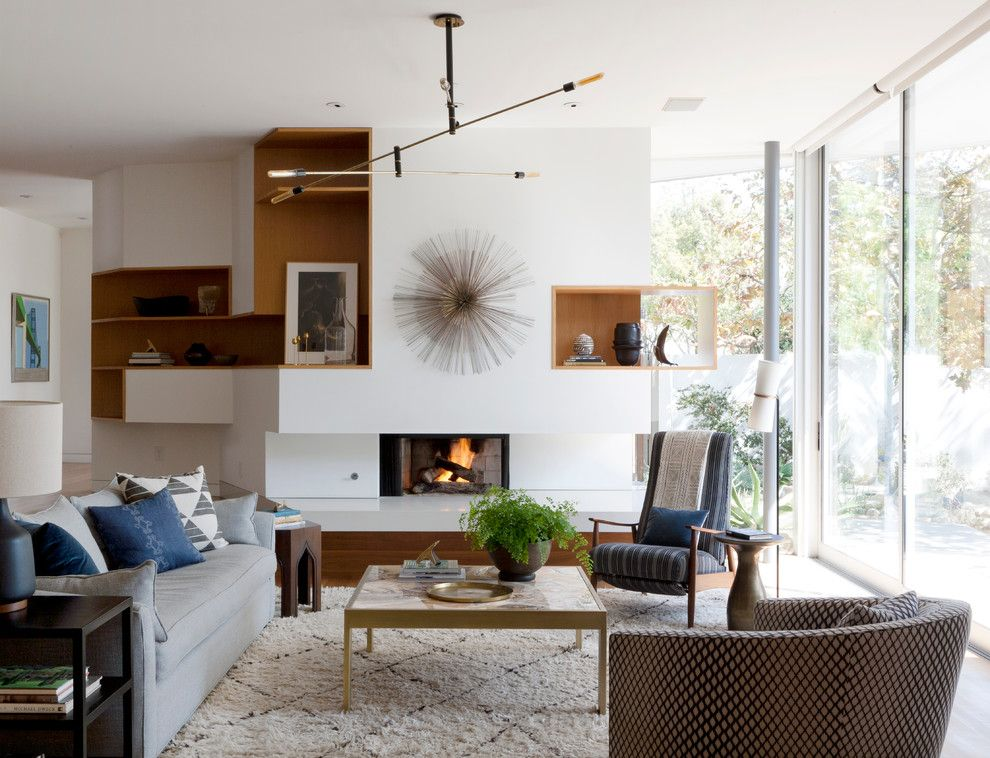 Roc Santa Monica for a Modern Living Room with a Living Room and Santa Monica Modern by Disc Interiors