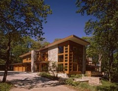 Rocking Horse Chicago for a Modern Exterior with a Tree and Modern Exterior by eiflerassociates.com