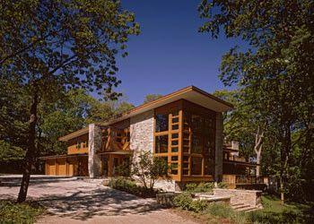 Rocking Horse Chicago for a Modern Exterior with a Tree and Modern Exterior by eiflerassociates.com