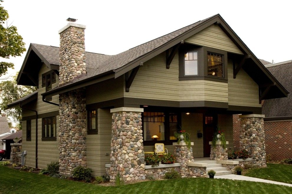 Rocking Horse Chicago for a Traditional Exterior with a Arts Crafts and New Crafsman Bungalow by West Studio Architects & Construction Services