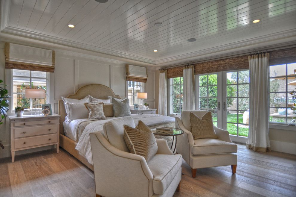 Rodda Paint for a Beach Style Bedroom with a French Doors and 1512 Dolphin Terrace by Spinnaker Development
