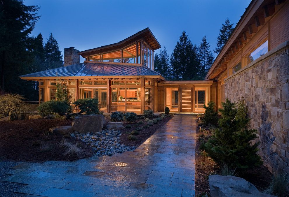 Roofs or Rooves for a Contemporary Exterior with a Standing Seam Roof and Redmond House by Finne Architects