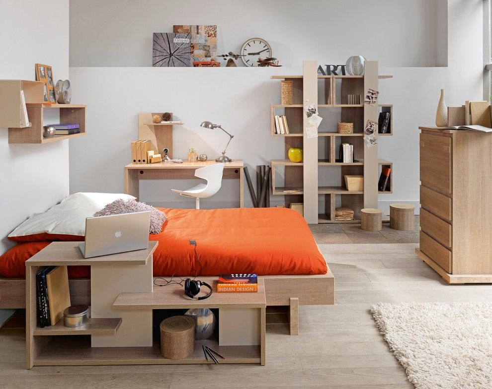 Roys Furniture for a Contemporary Kids with a Natural Style and Children Bedroom by Gautier London