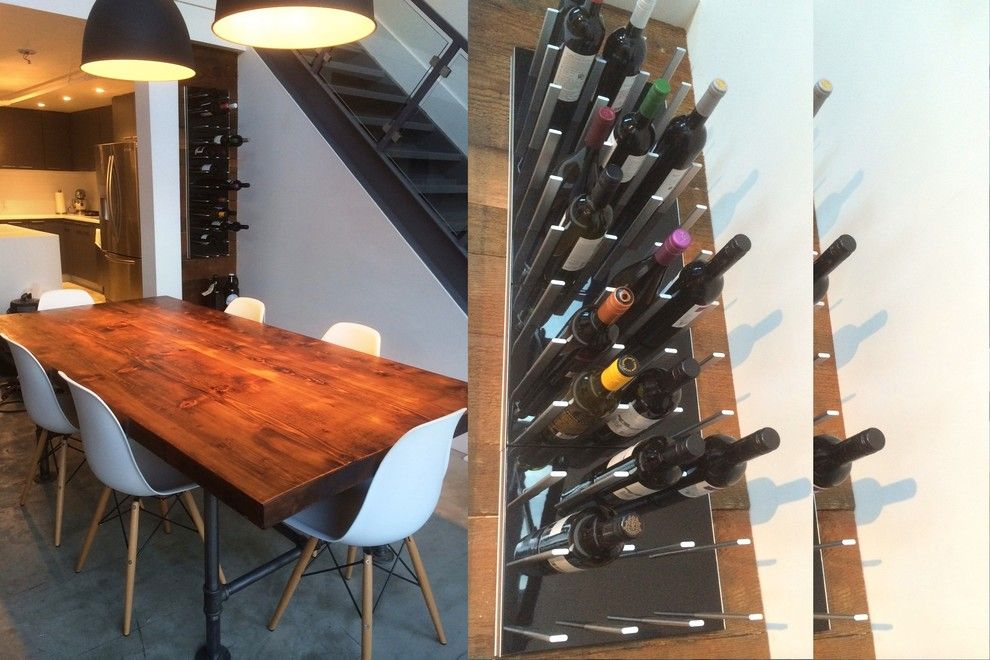 Rta Chicago for a Modern Wine Cellar with a Florida and Wine Racks Stact Around the World by Stact Wine Displays Inc.