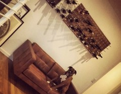 Rta Chicago for a Modern Wine Cellar with a La and Wine Racks STACT Around the World by STACT Wine Displays Inc.