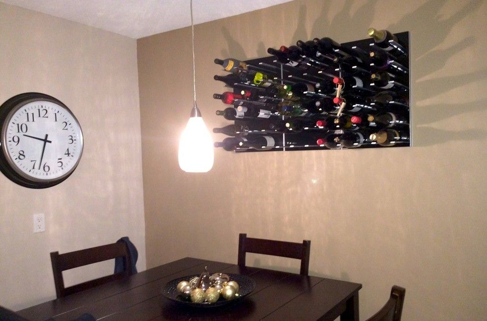 Rta Chicago for a Modern Wine Cellar with a Wine Cellars and Wine Racks Stact Around the World by Stact Wine Displays Inc.