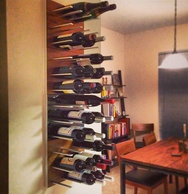 Rta Chicago for a Transitional Wine Cellar with a Wine Cellars and Wine Racks Stact Around the World by Stact Wine Displays Inc.