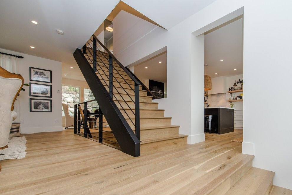 Running Creek Casino for a Craftsman Staircase with a Craftsman and Goodbrand Drive by Copper Creek Homes