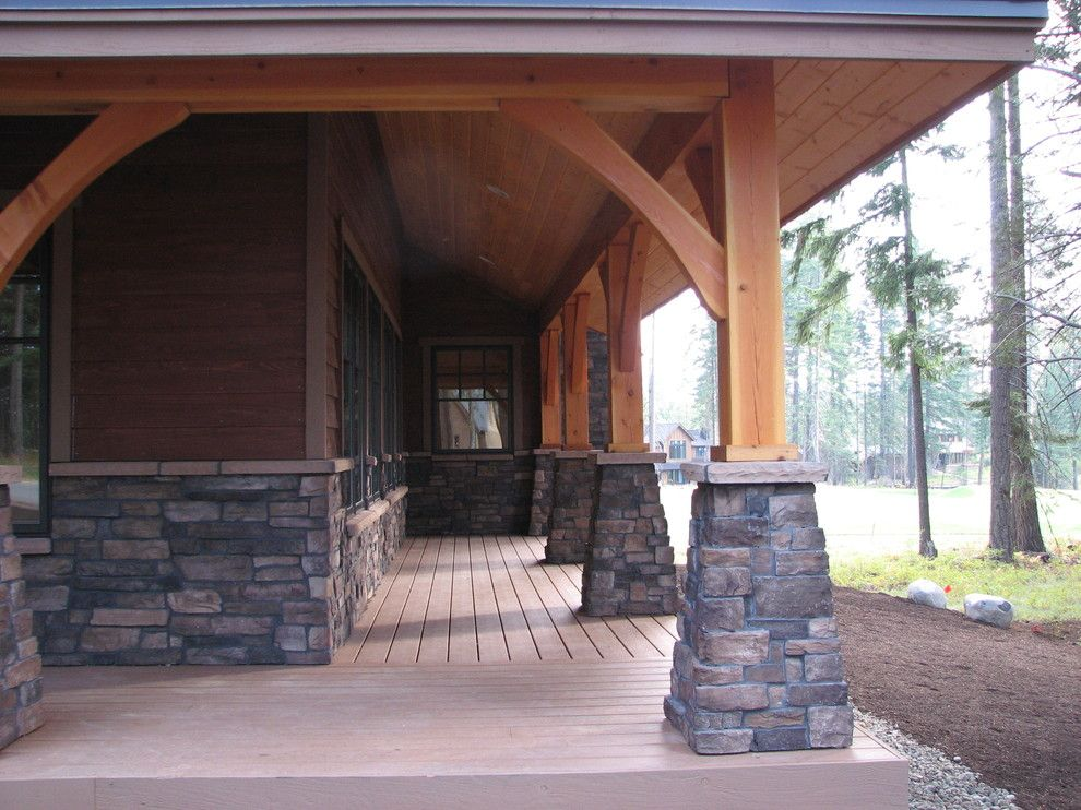 Rush Creek Golf Course for a Eclectic Spaces with a Home Plans and Suncadia Golf Course Vacation Home by Sc Design