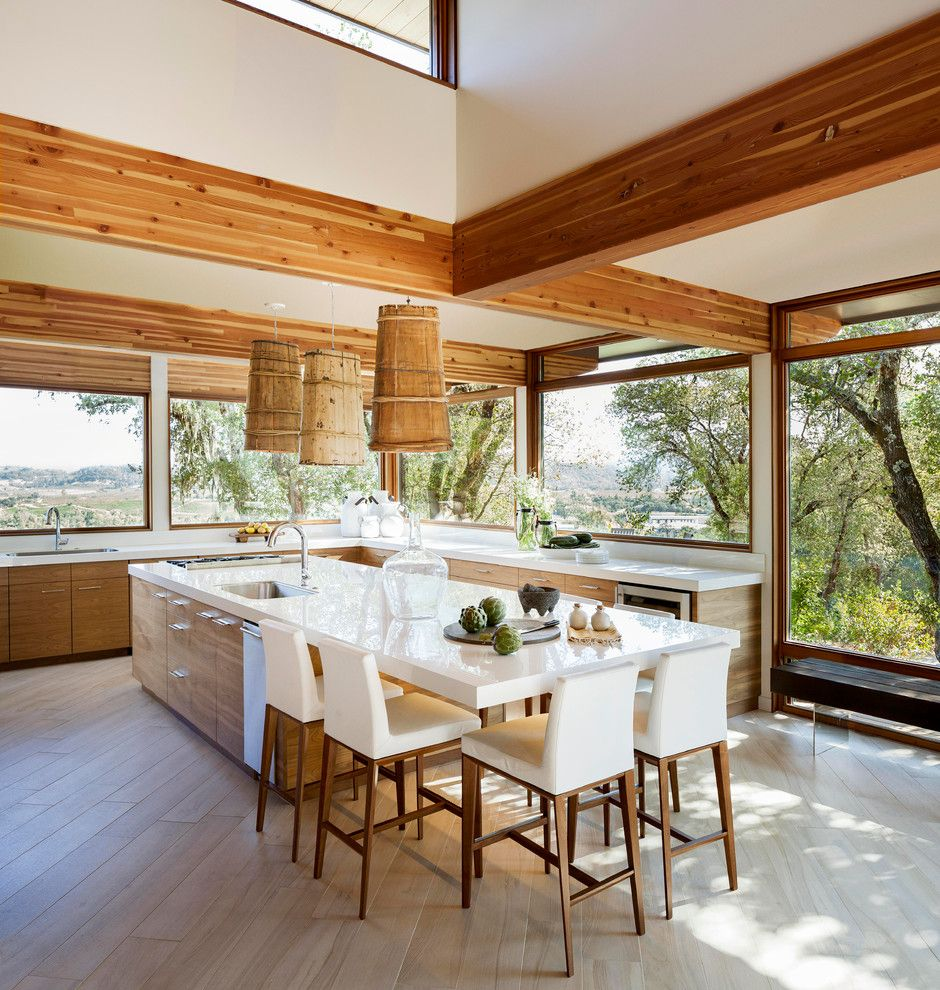 Rusk County Electric for a Modern Kitchen with a New Construction and Sonoma County