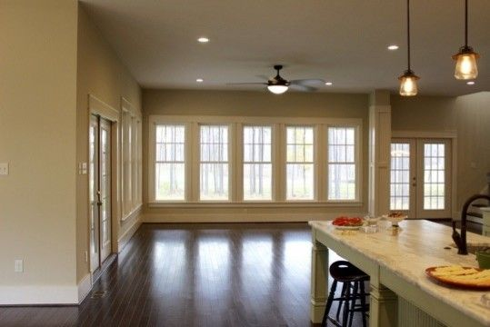 Ryan Homes Richmond Va for a Craftsman Kitchen with a Craftsman and Mountain Run Subdivision, Federal Club, New Custom Home Project by the Boyd Group of Va