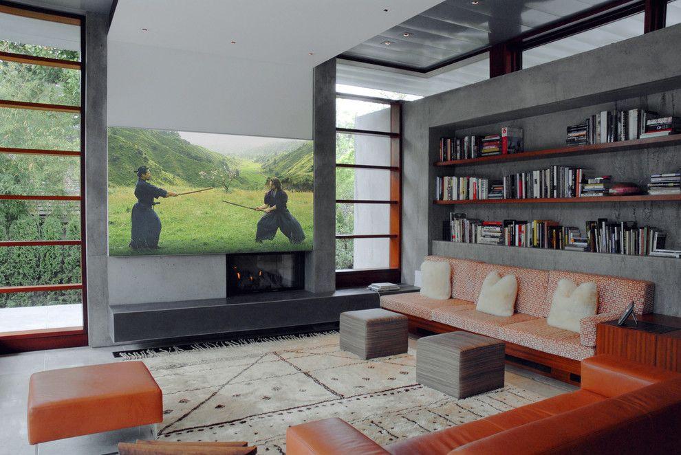 Ryland Homes Az for a Modern Living Room with a Mobile Device Control and Modern Living Room by Engenv.com