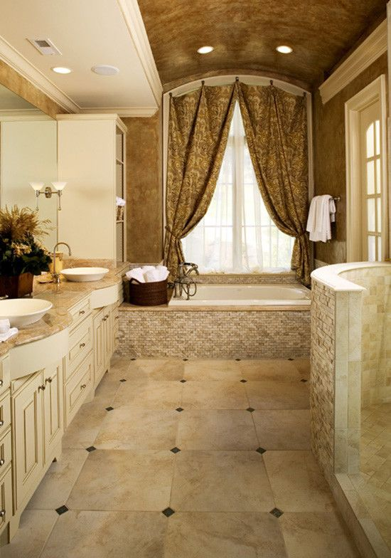 Ryland Homes Charlotte for a Traditional Bathroom with a Dream Home and the Hollowcrest  Plan#  5019 by Donald A. Gardner Architects