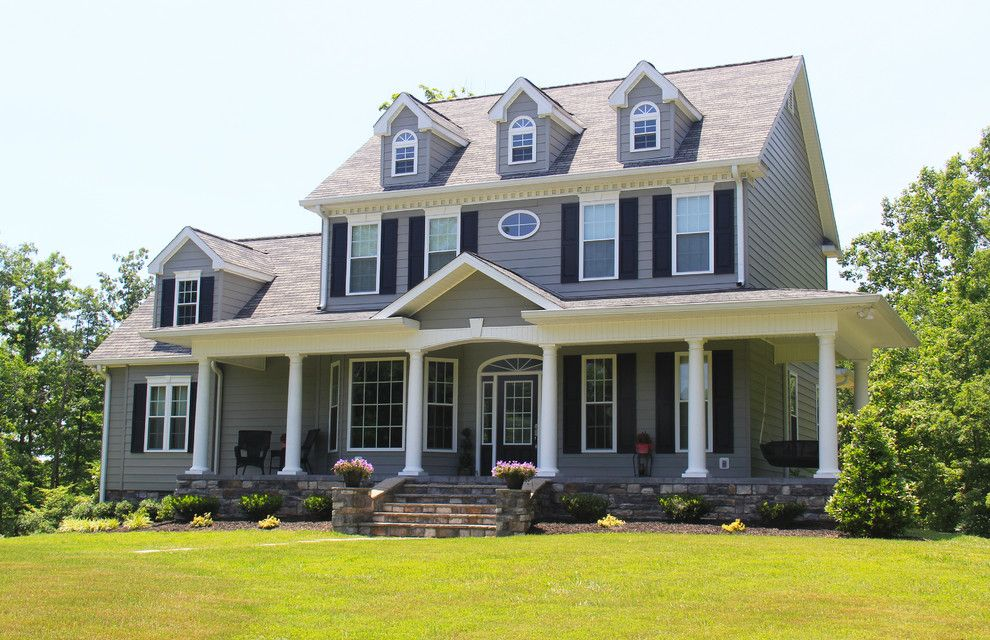 Ryland Homes Charlotte for a Traditional Exterior with a Design and the Swansboro   Plan #853 by Donald A. Gardner Architects
