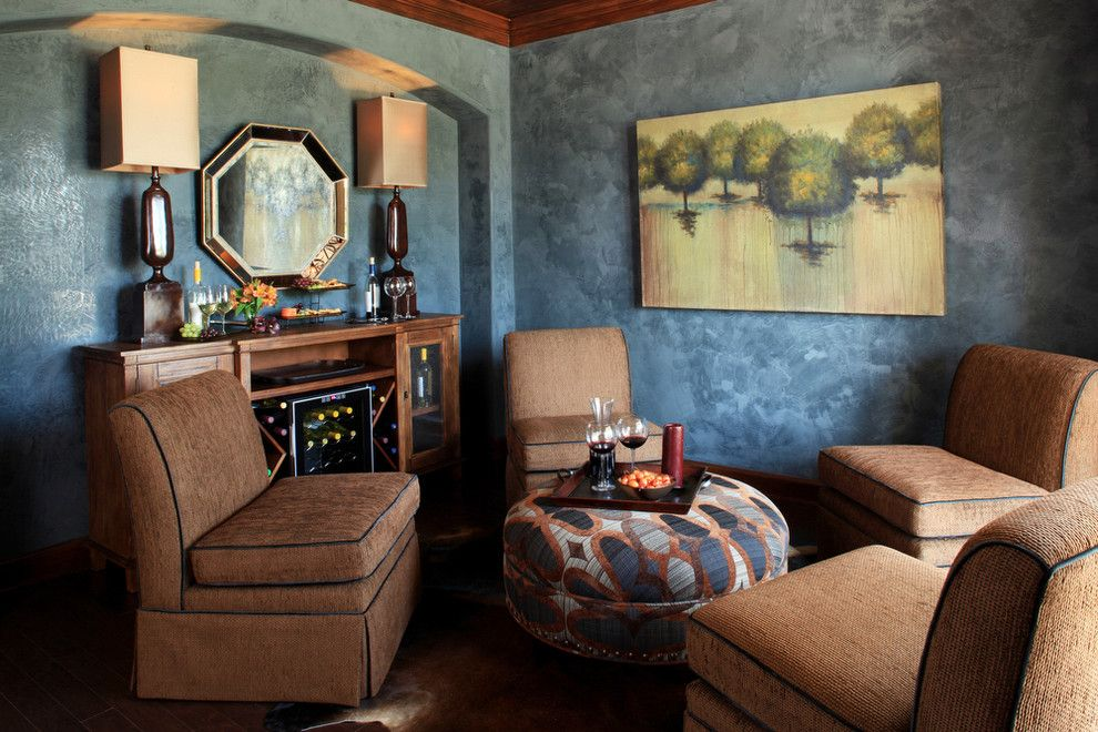 Ryland Homes Houston for a Eclectic Dining Room with a Blue and Wine Room by Cindy Aplanalp Yates & Chairma Design Group