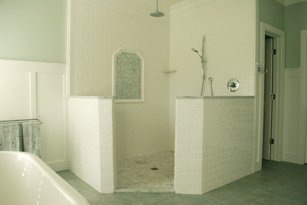 Ryland Homes Indianapolis for a Transitional Bathroom with a Master Bathroom and Master Bathroom by Sweet Chaos Home