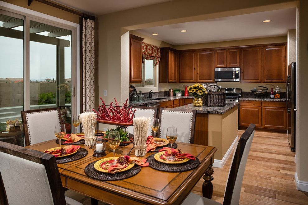 Ryland Homes Las Vegas for a Contemporary Kitchen with a New Homes and Pardee Homes Las Vegas   Summerglen by Pardee Homes