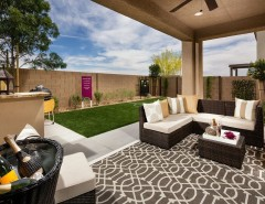 Ryland Homes Las Vegas for a Contemporary Patio with a Covered and Pardee Homes Las Vegas - Summerglen by Pardee Homes
