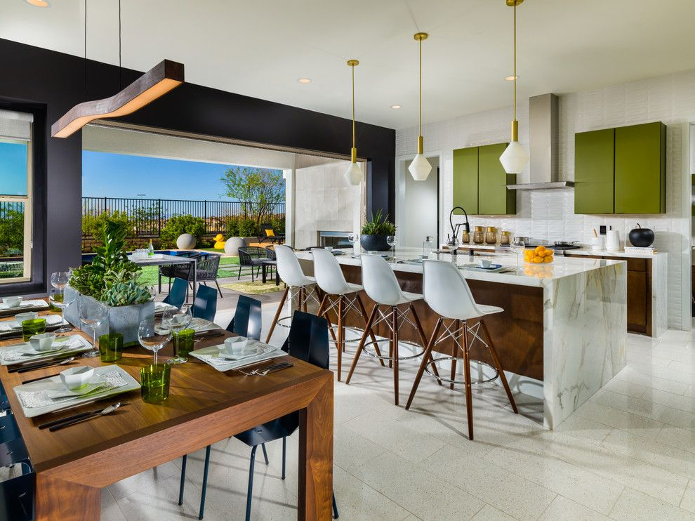 Ryland Homes Las Vegas for a  Spaces with a Midcentury Modern House and Inspired Mid Century Modern Home for Pardee Homes Las Vegas by Bobby Berk Home