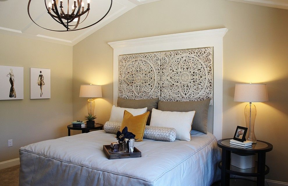 Saddlebrook Estates for a  Bedroom with a Master Bedroom and WB Homes, Saddlebrook Estates - Bedroom by Lita Dirks & Co.