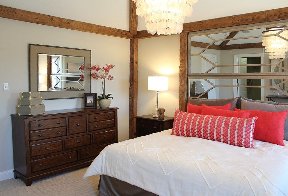 Saddlebrook Estates for a  Bedroom with a Master Suite and Wb Homes, Saddlebrook Estates   Master Bedroom by Lita Dirks & Co.