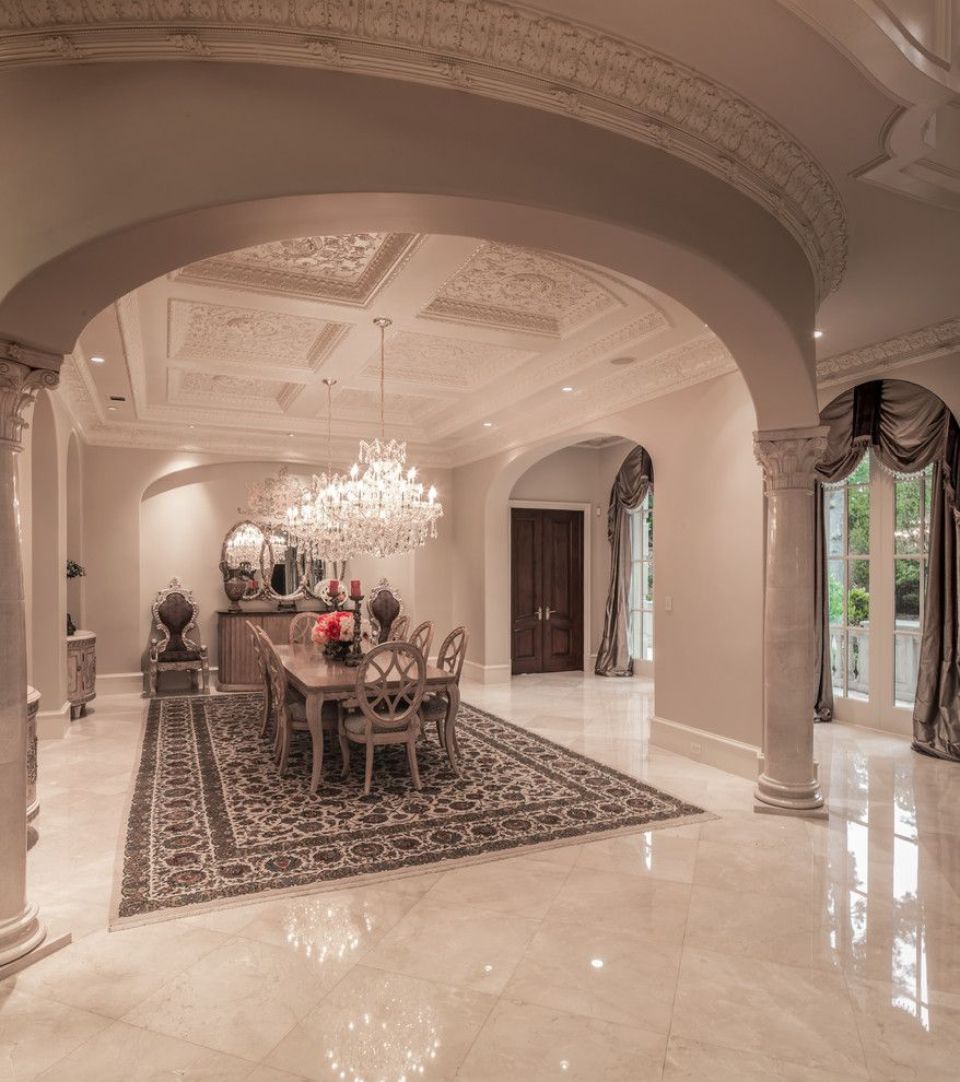 Saddlebrook Estates for a Mediterranean Dining Room with a Arched Openings and Saddlebrook Estate by Patrick Berrios Designs