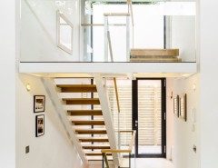 Safelite Autoglass for a Contemporary Staircase with a Modern House and Kings College Road by Thomson Lavers Architects Ltd