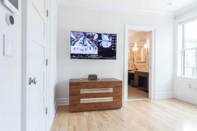 Safelite Nj for a Modern Spaces with a Smart Home and Smart Home in Hoboken, Nj by Serious Audio Video