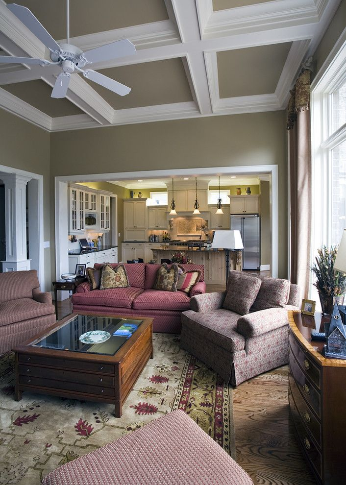Sag Harbor Gym for a Traditional Family Room with a Traditional and Breakfast by Grainda Builders, Inc.