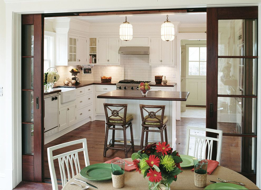 Sag Harbor Gym for a Traditional Kitchen with a Traditional and Allison Kitchen, Sag Harbor, New York by Smith River Kitchen & Bath, Inc
