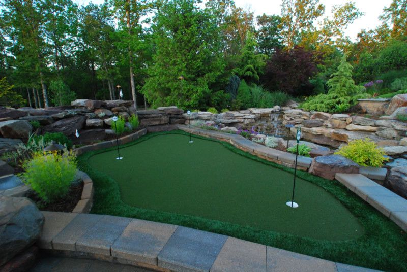 Sagamore Golf Course for a Eclectic Landscape with a Recreation and Putting Green by Land & Water Design