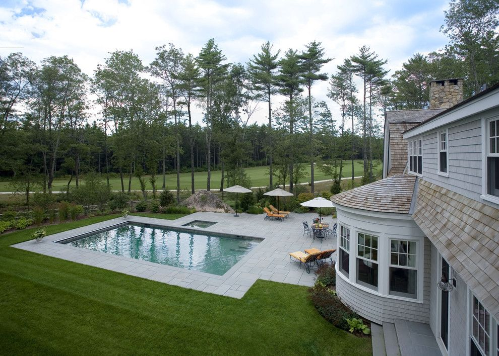 Sagamore Golf Course for a Traditional Exterior with a White Trim and Green Tea by Siemasko + Verbridge