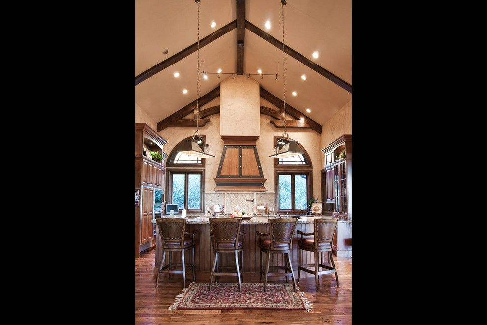 Salt Lake City Elevation for a Traditional Kitchen with a Mountain Home and Salt Lake City, Utah Luxury Home by Markay Johnson Construction by Markay Johnson Construction